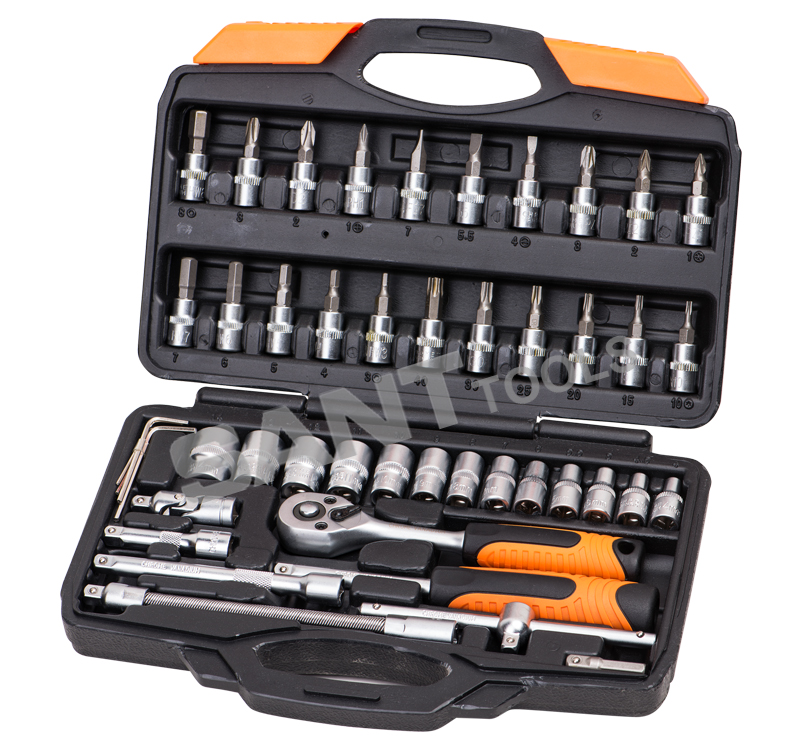 Item#141046        46pcs 1/4 Drive Socket Set
