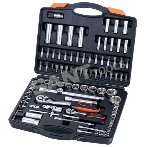 Item#121094    94pcs 1/4 1/2 drive socket set
